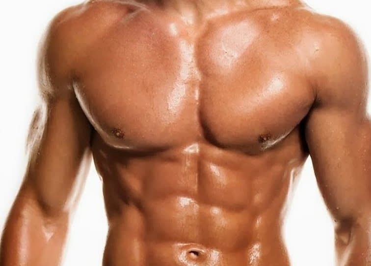 tanned muscular man 2